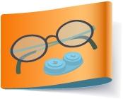 Glasses Contact lenses